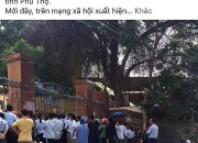 Sở GD-ĐT Phú Thọ đề nghị công an làm rõ tin đồn nam sinh lớp 10 làm 4 bạn nữ có thai